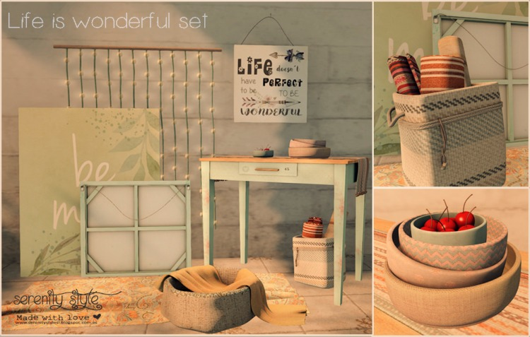 Serenity Style's Life Is Wonderful Set