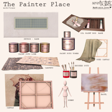 serenity-style-the-painter-place-key